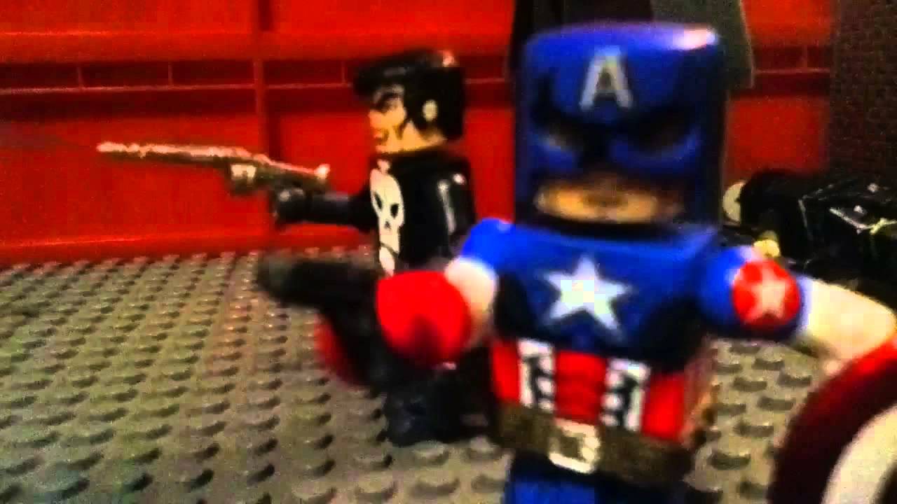 marvel zombies minimates lego stopmotion movie youtube