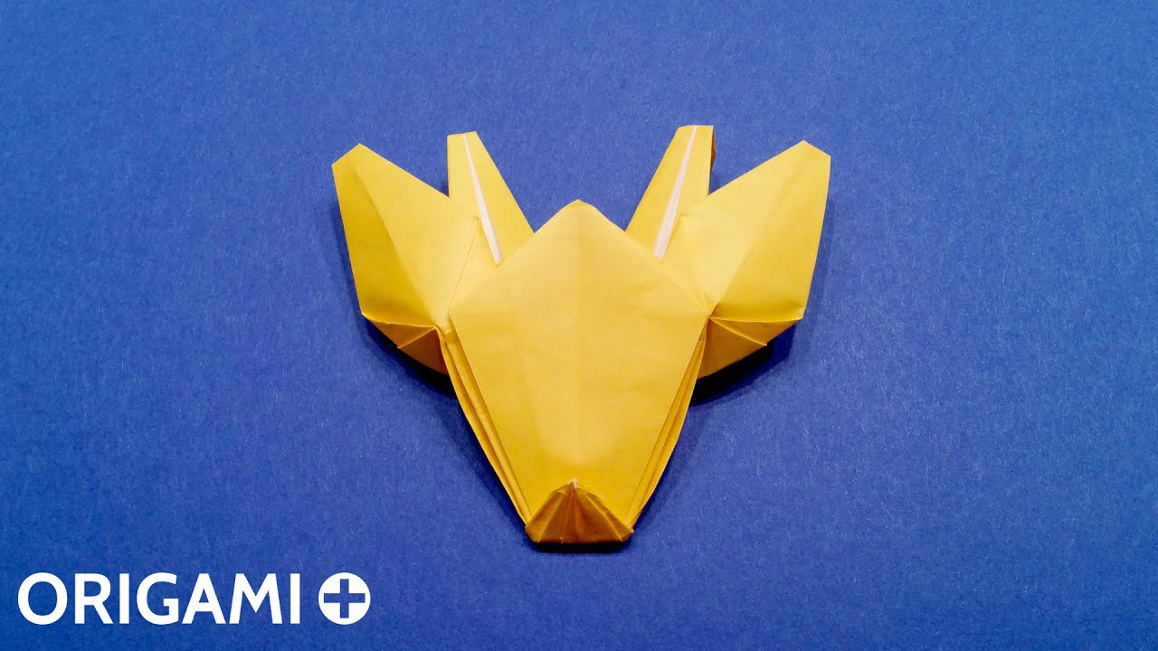 Origami Giraffe Head - YouTube - photo#27