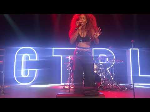 Sza - Hiiijack (Ctrl Tour Live @ The Novo In Los Angeles, CA 9/25/17)