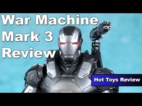 Hot Toys Captain America Civil War: War Machine Mark 3 Review