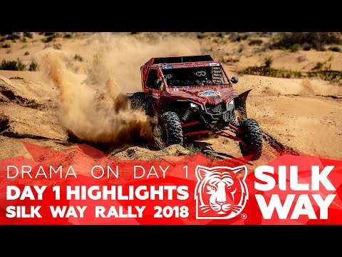 2018.07.21 Silk Way Rally 2018. Daily Highlights/ Day 1