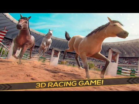 🐎🎠👍Horse Derby World Championship- By Free Wild Simulator Games Racing - iTunes/Android