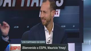 ⚽JOSE RAMON LE DA LA BIENVENIDA A MAURICIO YMAY EN ESPN ⚽