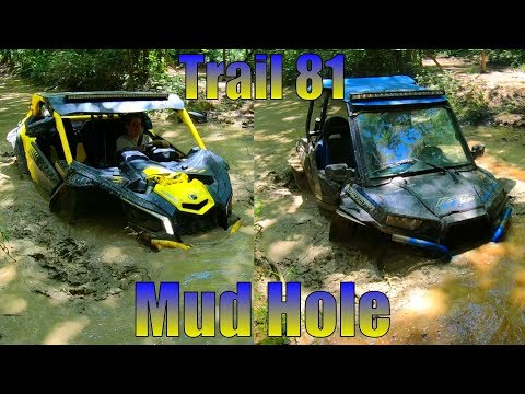 Can Am X3 And Polaris RZR XP 1000 Hit Some Mud