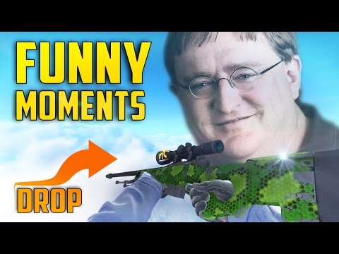 CS:GO -AWP DROP!!! (Counter Strike: Funny moments!)