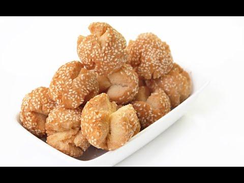 ขนมหัวเราะ Fried white sesame cookies - วันที่ 17 Sep 2019