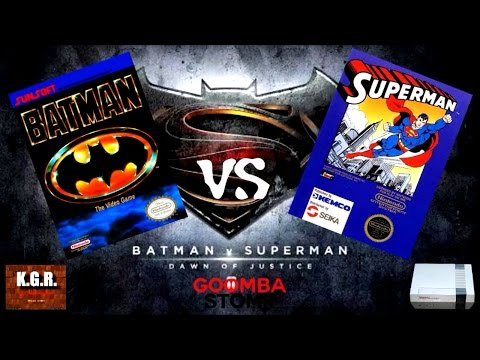KGR: Batman vs Superman - NES Debut Showdown!