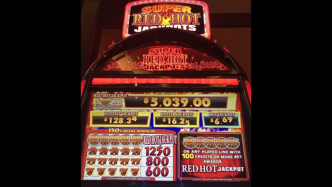 Red Hot Jackpots Slot Machine