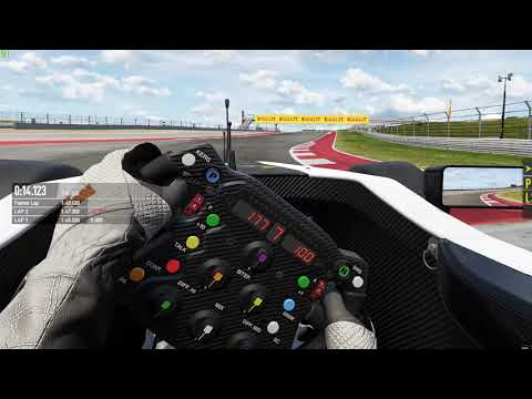 Project CARS 2 Formula A qualifying VR onboard @ COTA