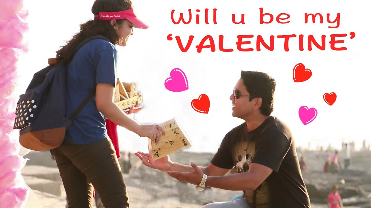 Valentineu0027s Day Proposal Prank   Prank In India   YouTube