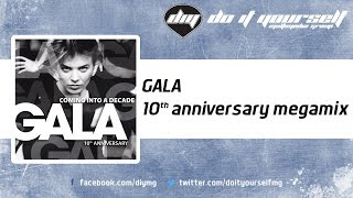 GALA  - 10th anniversary megamix [Official]