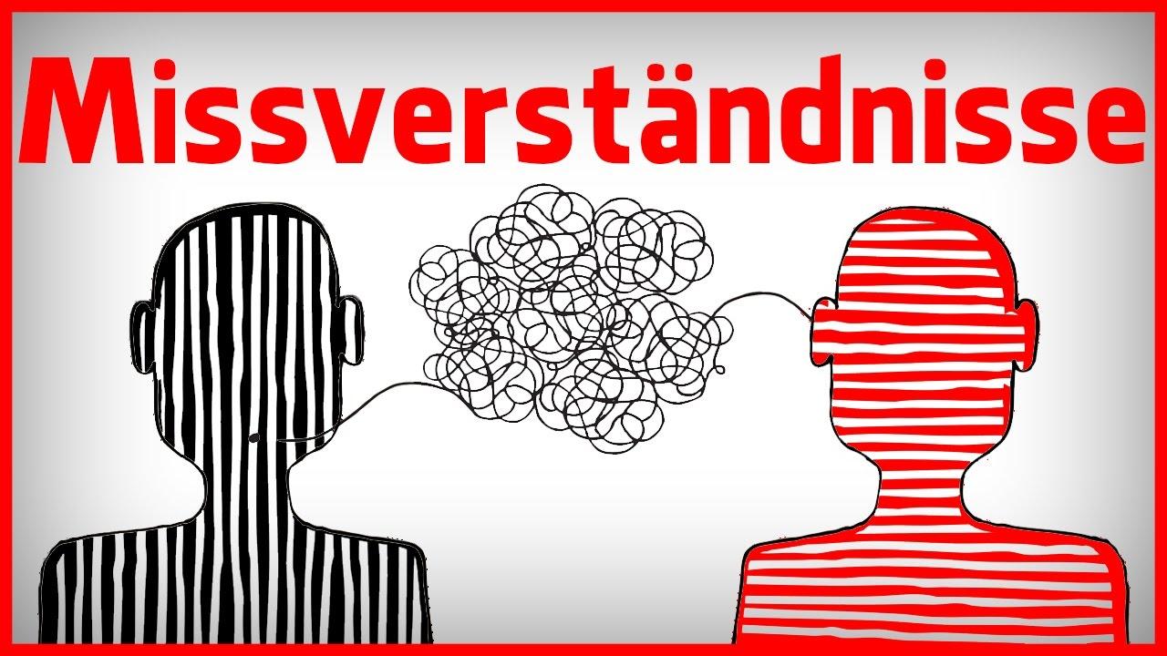 Missverständnisse in der Kommunikation - YouTube