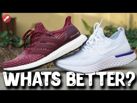 nike roshe run vs adidas ultra boost