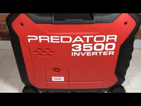 Predator 3500 Watt Super Quiet Inverter Generator from Harbo