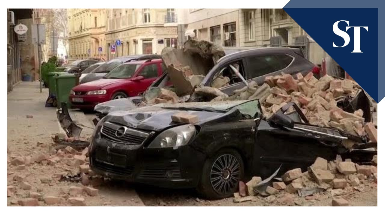 Croatian capital hit by 'most powerful earthquake in 140 years'