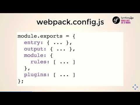SymfonyLive Paris 2017 - Alain Hippolyte - Utiliser Webpack dans une application Symfony