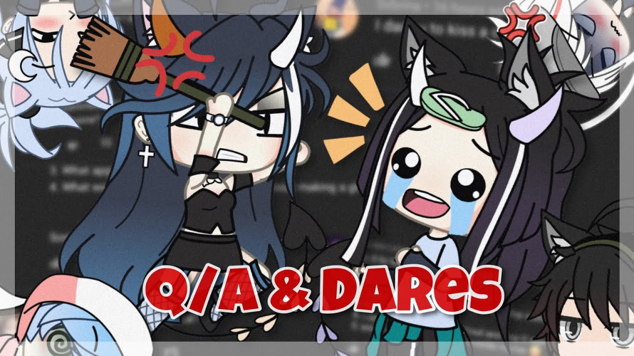 [ Gacha Life ] Doing your dares and answering Questions! { 100k special🥳 } [ VOICE REVEAL]