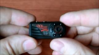 Огляд міні камери QQ6, інструкція,   розбирання, приклад зйомки