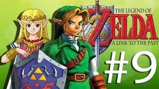 This FREAKING bottle! | Let's Play The Legend of Zelda A Link to the Past (Part 9)