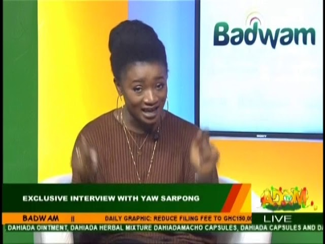 Exclusive Interview With Yaw Sarpong - Badwam on Adom TV (14-12-18)
