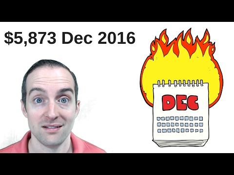 December 2016 Income and Expense Report with $5,873 Profit Before Taxes!