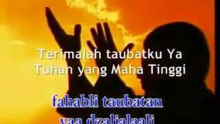 Syair Abu Nawas Ilahilasturil Firdaus (I'tiroof) - Hadad Alwi with subtitle