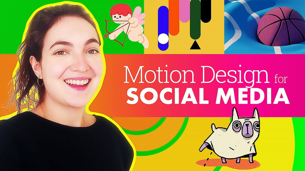 Create Engaging Motion Design: Social Media w/ Pedro Alvarez, Ilenia Notarangelo & Bee Grandinetti