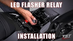 How to install an LED Flasher Relay on a 2019+ Kawasaki ZX6R by TST Industries