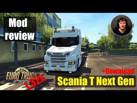 ETS2 1.32x MODS|Scania T Next Gen | Review of Mods Euro Truck Simulator 2