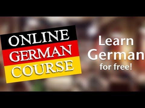 German For Beginners A1 Level