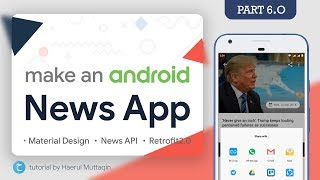 Share News 📤 (Share Text Link with Intent) - Android News App Tutorial #6 • API • Retrofit2