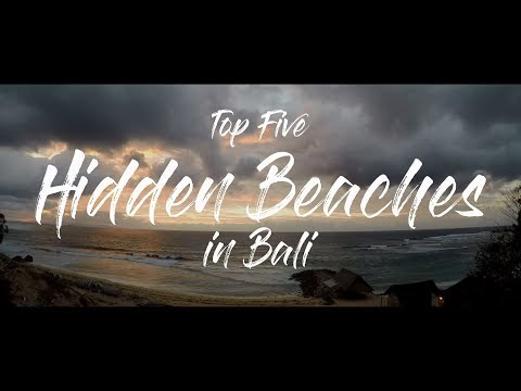 Top 5 hidden beaches in Bali using GoPro