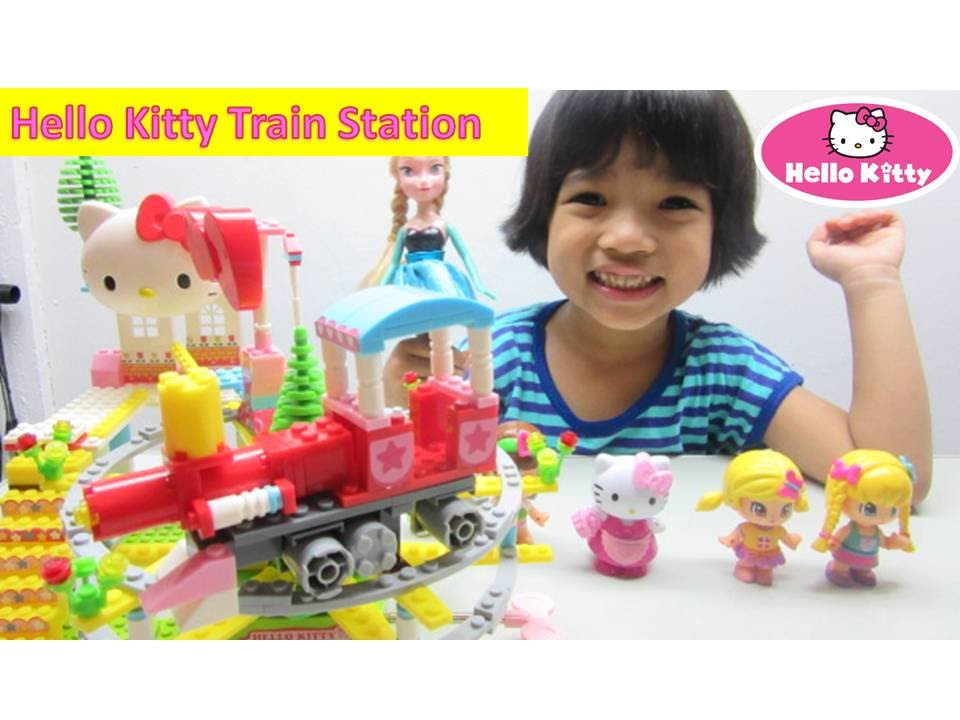 Hello Kitty And Toy Story Jessie Images : Hello kitty lego train station playtime story with
