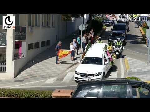 🎥 #ESNOTICIA Funeral por el guardia civil fallecido