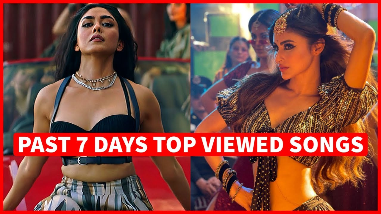 Past 7 Days Most Viewed Indian Songs on Youtube [20 September 2021]