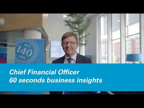 Chief Financial Officer – 60 seconds business insights