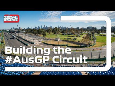 Building the Formula 1 Australian Grand Prix Circuit