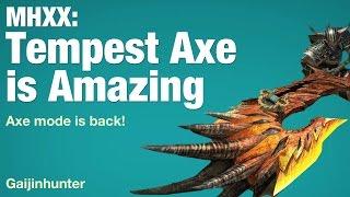 Monster Hunter XX: Tempest Axe (SA)