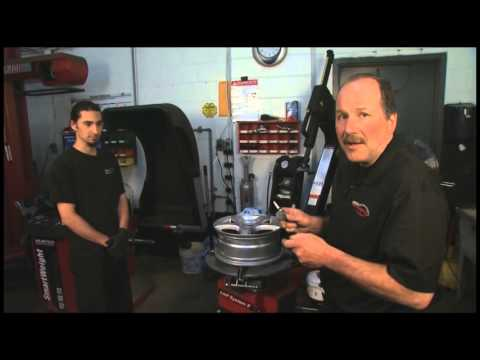 Tire Pressure Monitor Systems (TPMS) & Mounting/Balancing a Tire