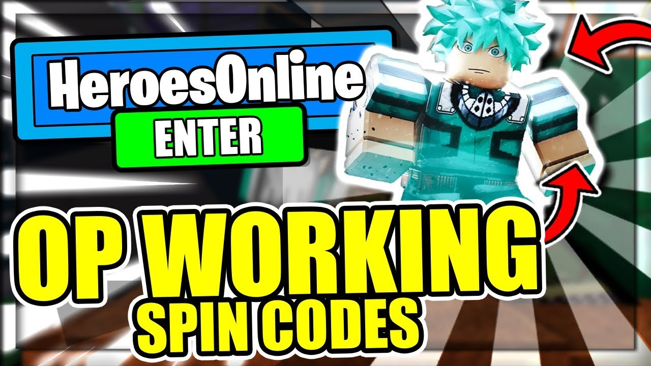 My Hero Legendary Codes Roblox Heroes Online Codes Roblox July 2020 Mejoress
