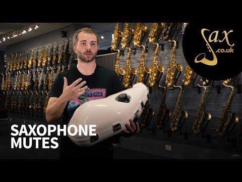 Saxophone Mutes