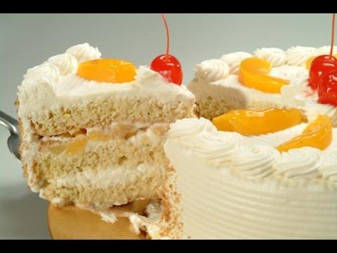 Pastel de durazno c mo hacer un rico pastel youtube - Como hacer melocoton en almibar ...