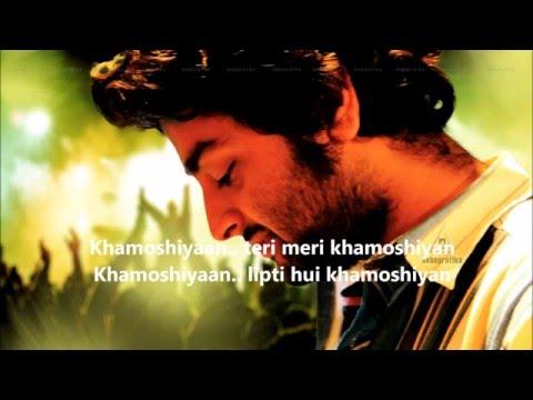 khamoshiyan song lyrics with english translation