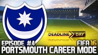 FIFA 16: PORTSMOUTH CAREER MODE #4 - WHAT A BARGAIN!!!