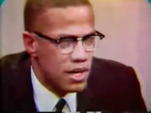 Malcolm X talking about SLAVERY!