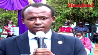 Senator Mutula drums up support for BBI in Mbooni as he spoke about his father's death