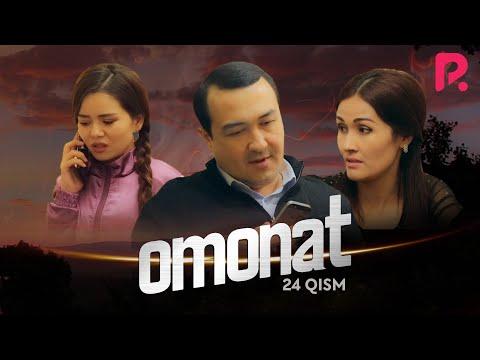 Omonat (o'zbek serial) | Омонат (узбек сериал) 24-qism #UydaQoling