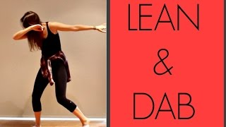 How To Do The 'LEAN & DAB' | andreakswilson