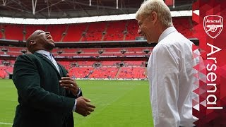 When Wenger met Wright, Campbell and Gallas