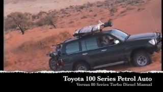 Simpson desert Big Red Landcruiser Battle